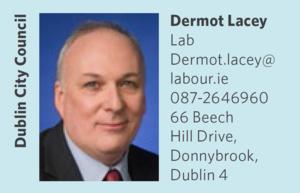 Dermot Lacey, Cathaoirleach