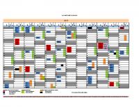 CoR Meetings calendar 2017