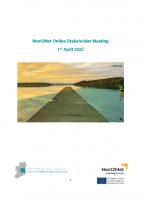 Next2Met Online Stakeholder Report